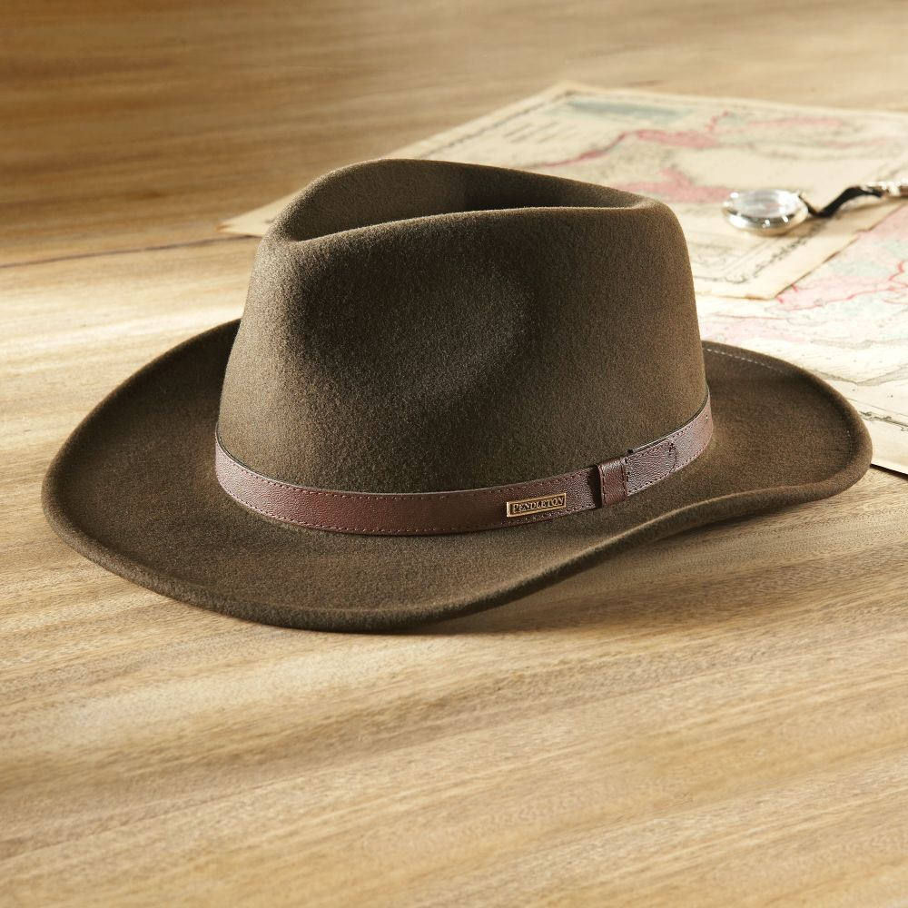 c1106a273f5 This travel hat can be crushed flat into a suitcase but springs right back  to shape when out exploring.  travel  gear Crushable Felt Travel Hat