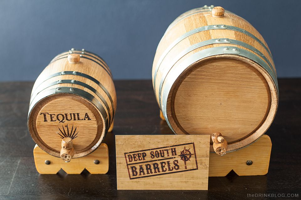 Barrel Aged Cocktails Deep South Barrels Drinks