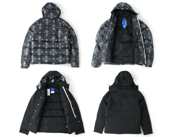 adidas Originals Blue Collection – Fall 2012 Outerwear Collection