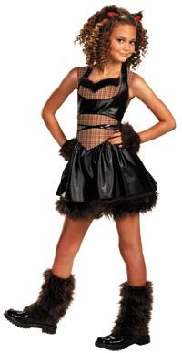 female werewolf costumes girls twisted wolf costume halloween costumes