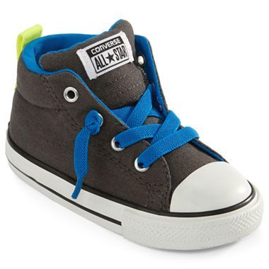 177f7c5d72697a Converse® Chuck Taylor Street Toddler Boys Shoes - jcpenney. For ring  bearers ... Change shoe strings