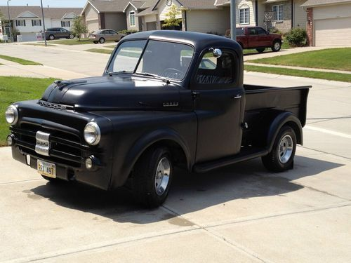 Sell Used 1952 Dodge B3b Pilot House Truck In Omaha Nebraska