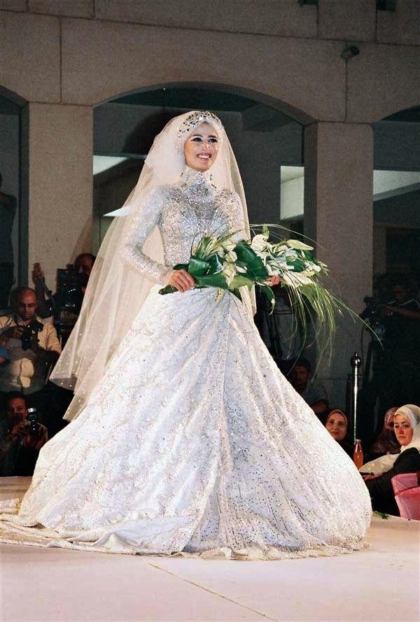 مجلة جمال حواء فساتين زفاف للمحجبات هانى البحيرى Dresses Wedding Dresses Fashion
