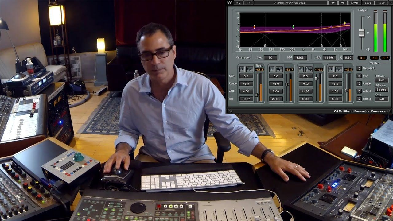 Top Mixing Engineer Tony Maserati Using Waves C4 On Vocals Music Software Waves Plugins Vocal