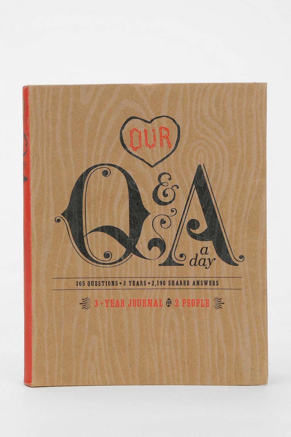 our qa day journal  fun anniversary ideas couples book