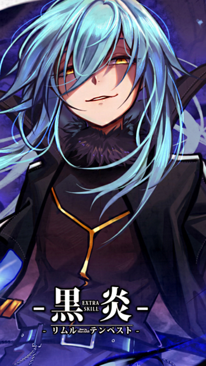 Tumblr is a place to express yourself, discover yourself, and bond over the stuff you love. Rimuru Tempest Anime That Time I Got Reincarnated As A Slime That Time I Got Reincarnated As A Slime 720x1280 Mobile Wallpap Slime Wallpaper Anime Blue Anime