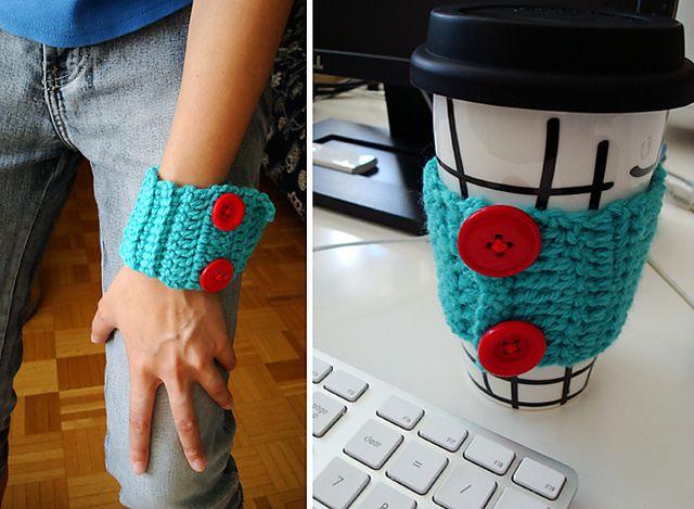 Ravelry: cuff / sleeve pattern by Trish Young (FREE PATTERN)