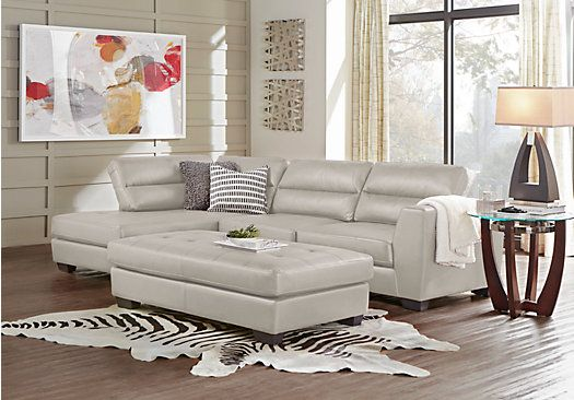 Best Congress Street Stone 3 Pc Sectional Living Room 955 00 640 x 480