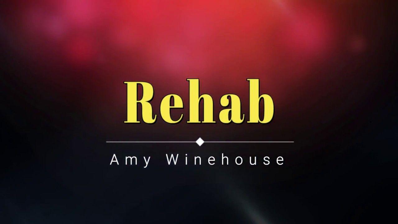 Amy Winehouse Rehab Lyric Video Hd Hq Music Wine