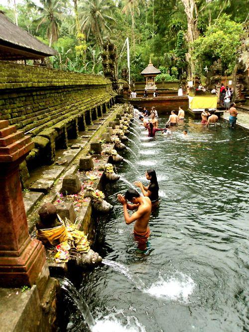 Holy Baths, Bali