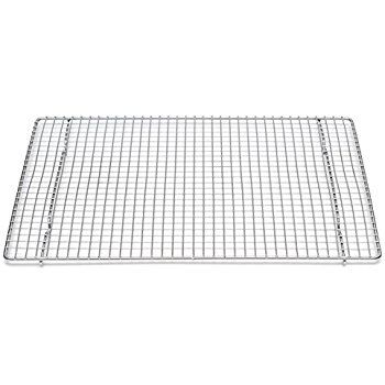 Amazon Com Professional Cross Wire Cooling Rack Half Sheet Pan Grate 16 1 X2f 2 Quot X 12 Quot Drip Scr Half Sheet Pan Baking Sheets Kitchen Supply Store