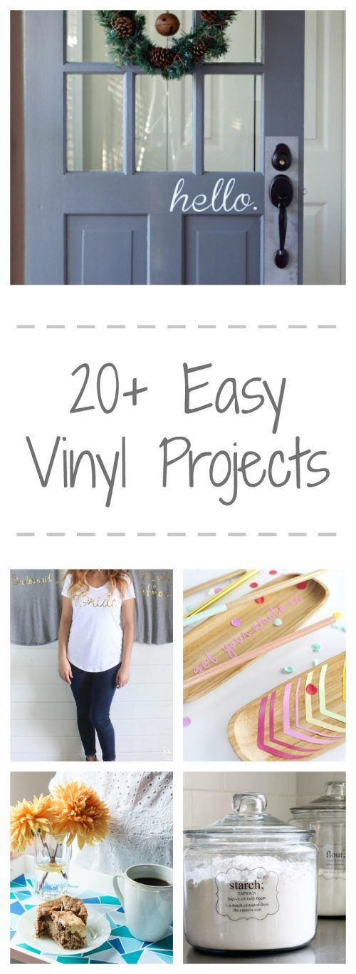 Easy Vinyl Projects