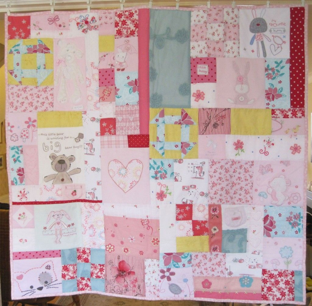 save your favorite baby clothes and turn them into a memory quilt ...
