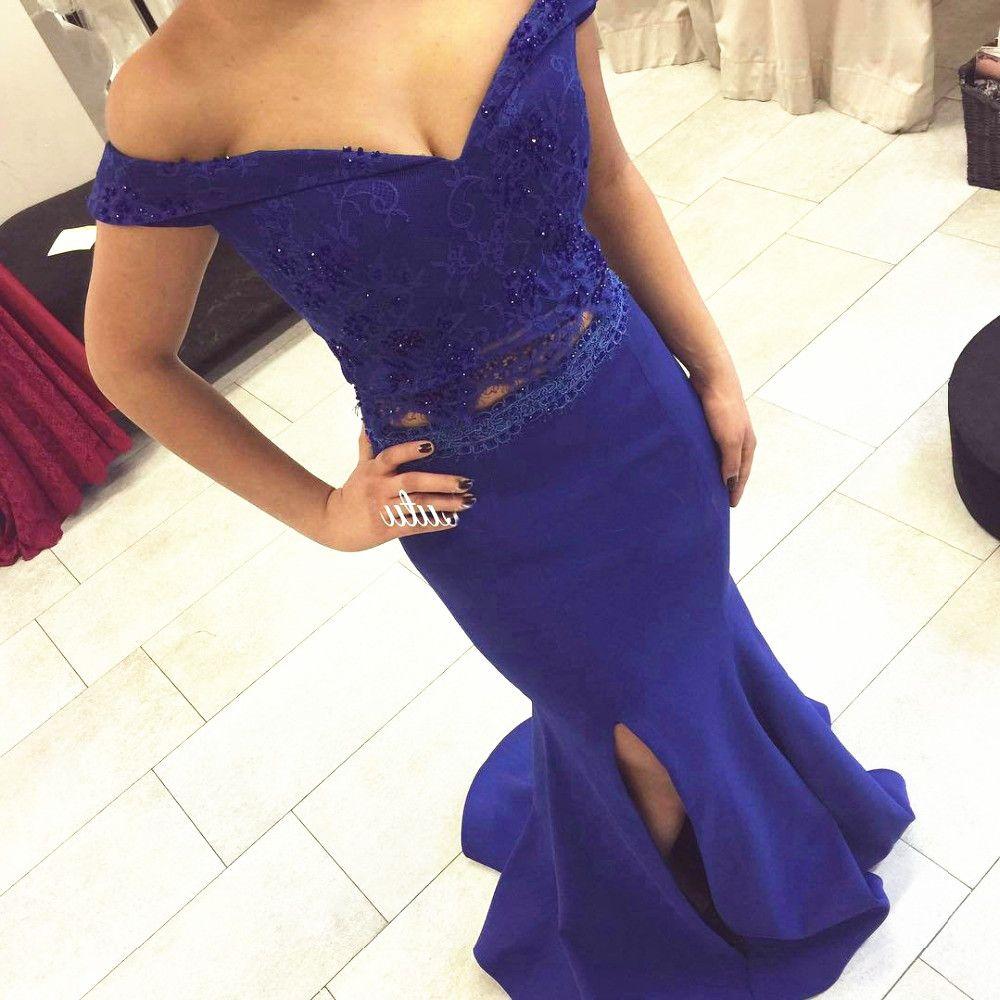 Royal Blue Prom Dressesroyal Blue Prom Dresssilver Beaded Formal