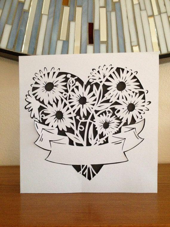 Киригами открытка с днем матери, тачки