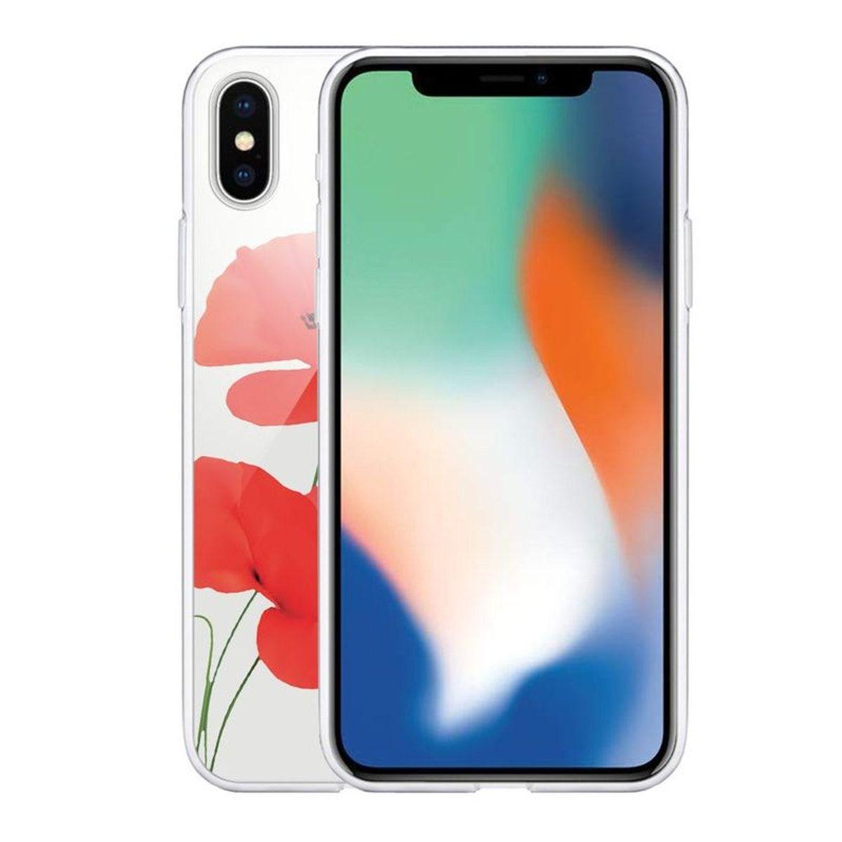 coque iphone xs coquelicot