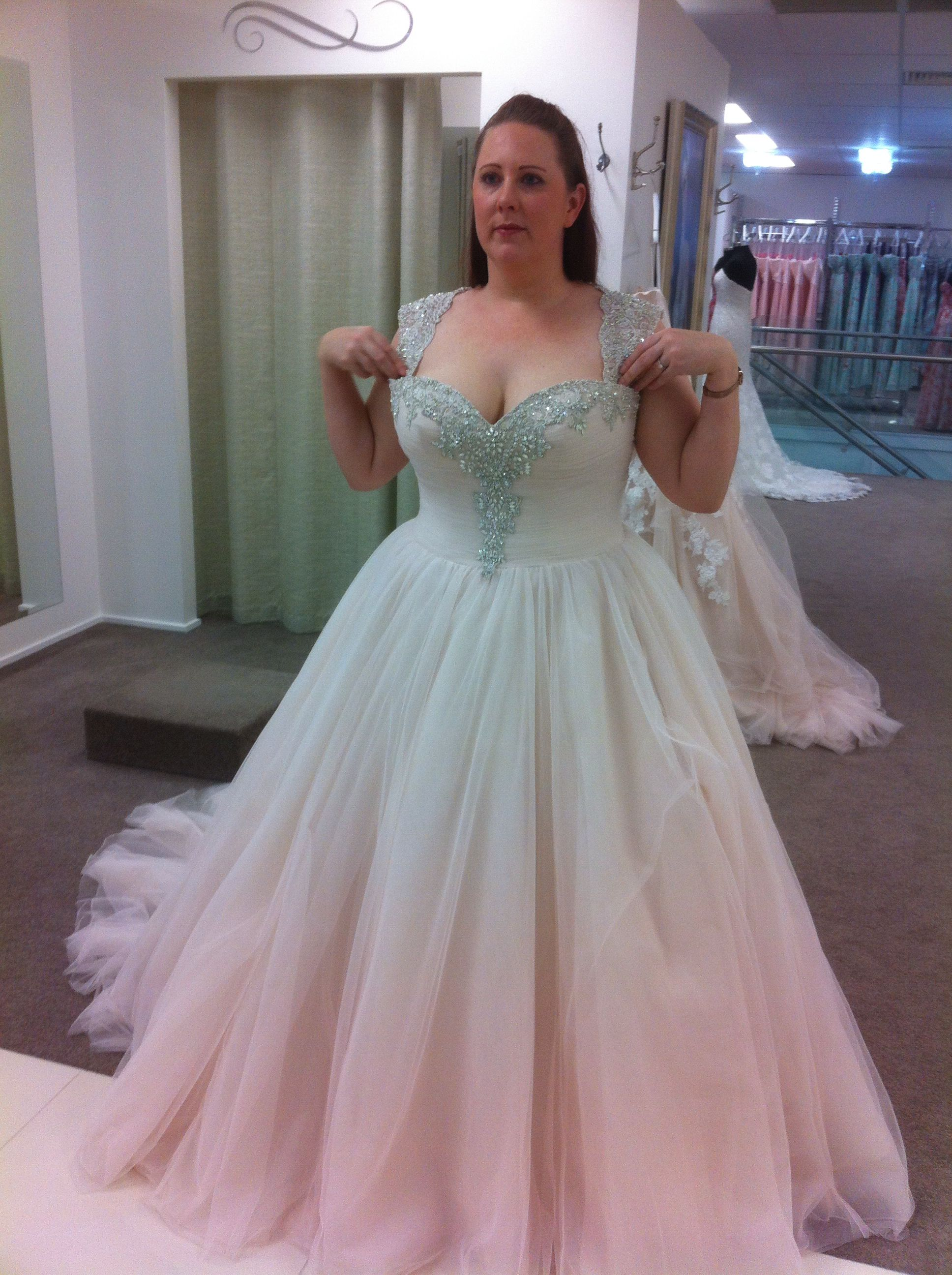 Plus Size Wedding Dress I Love This But Would Want Purple Instead Wedding Gown Backless Wedding Dresses Plus Wedding Dresses [ jpg ]