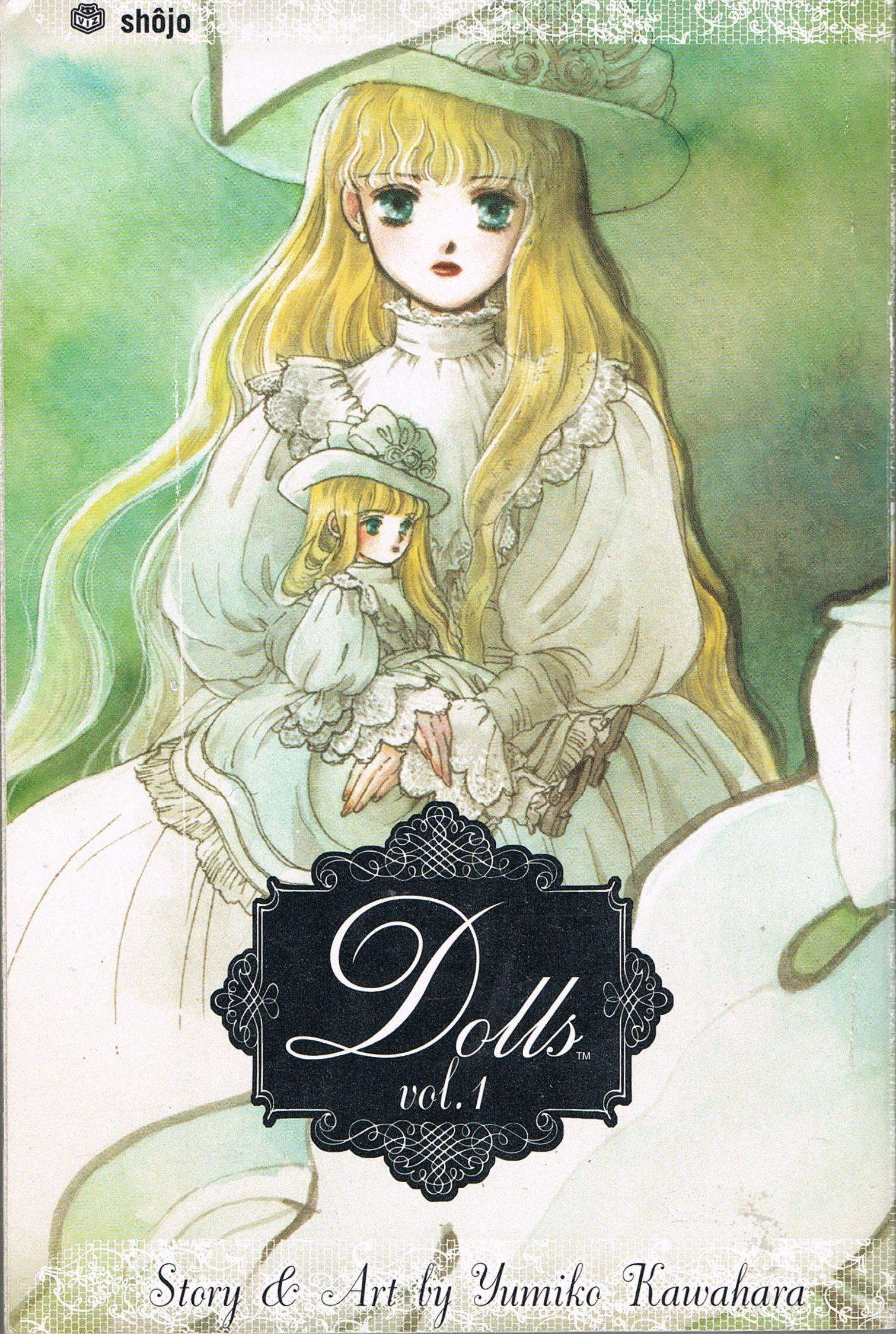 Dolls vol 1 (2004) by Yumiko Kawahara. For once the blurb ...