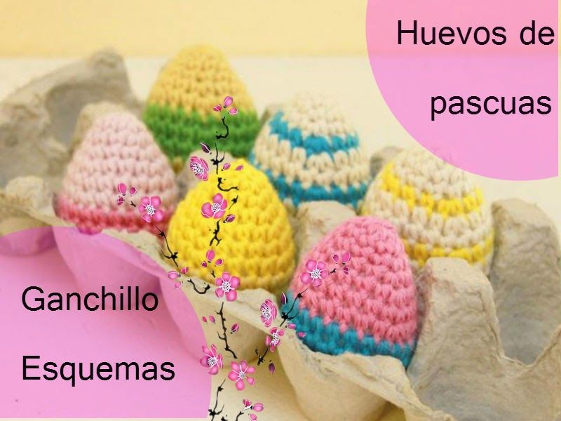 Huevos de pascuas en crochet | Pinterest | Huevo, Ver modelos y Amar
