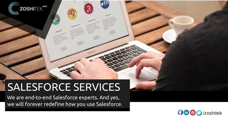 Zoshi Tek is a team of salesforce implementation partners