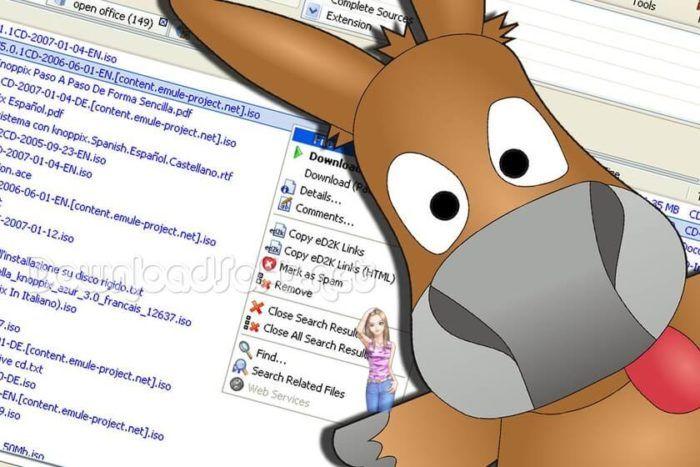Télécharger eMule Partager Fichiers et Documents Gratuit