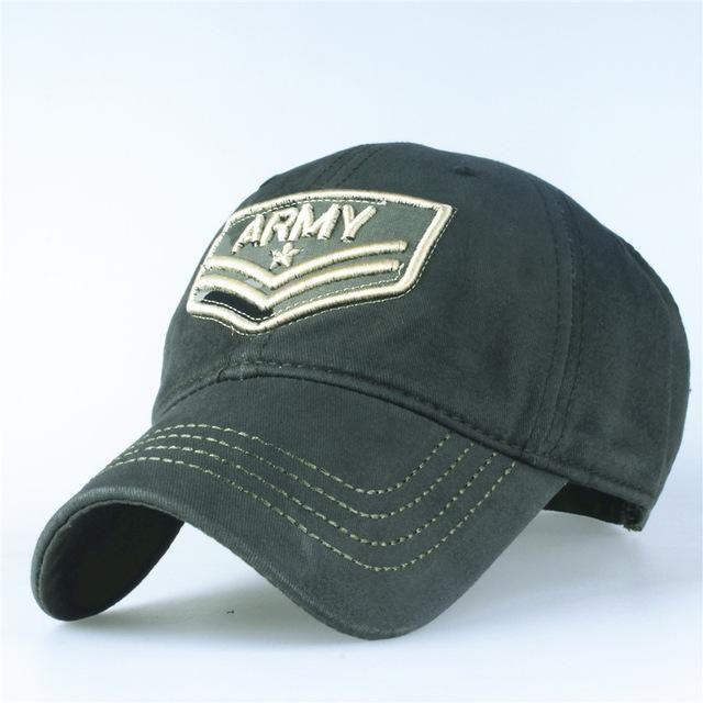 Xthree Army Lettering Camouflage Baseball Cap  f861f02b90b