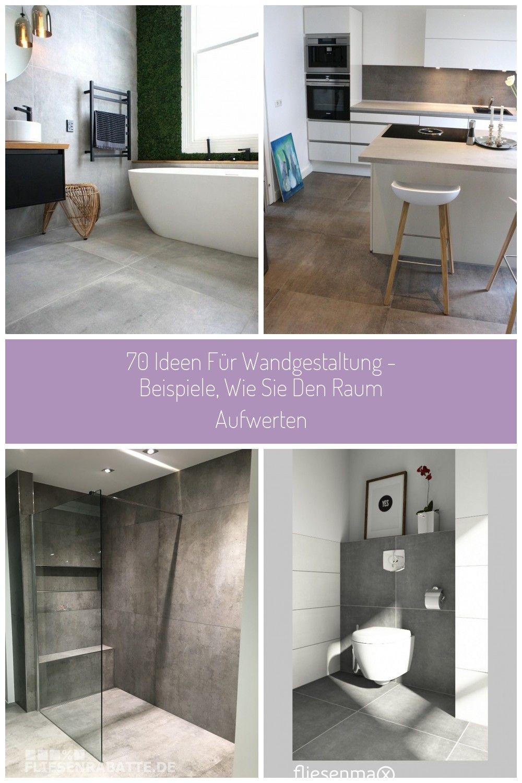70 Ideen Fr Wandgestaltung Beispiele Wie Sie Den Raum Aufwerten Wandgestaltung Badezimmer Fliesen Fussbodenbelag