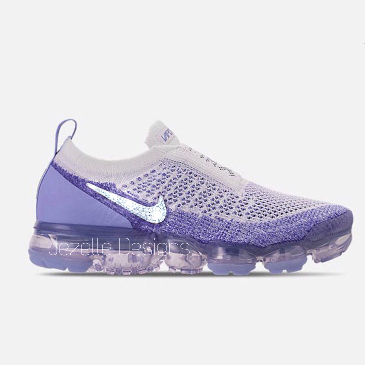 The shoes of your dreams have arrived! Custom Swarovski Crystal NIKE Air  VaporMax MOC2 by Jezelle Designs! Selling our fast!  fitspo  heatonmyfeet 871e140ed5