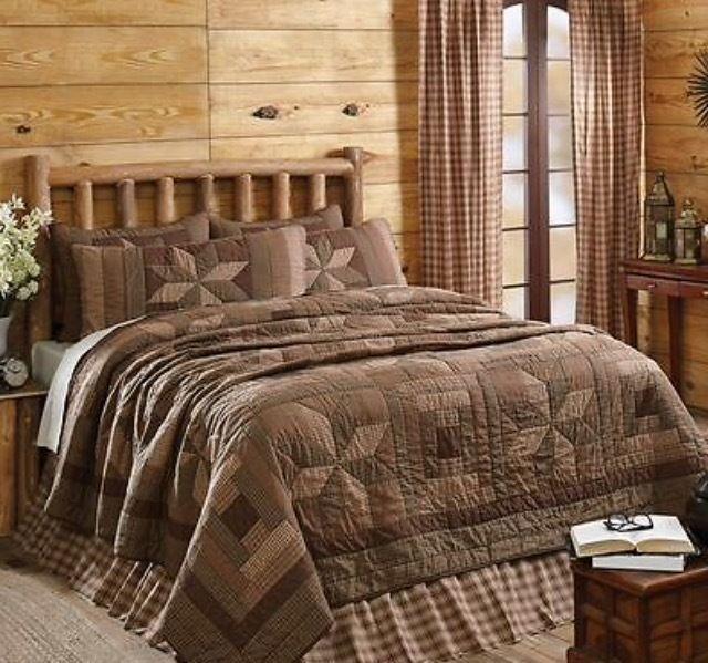 Bradley Courthouse & 8pt Star Patchwork 6pc Quilt Bedding Set ... : bradley quilt set - Adamdwight.com