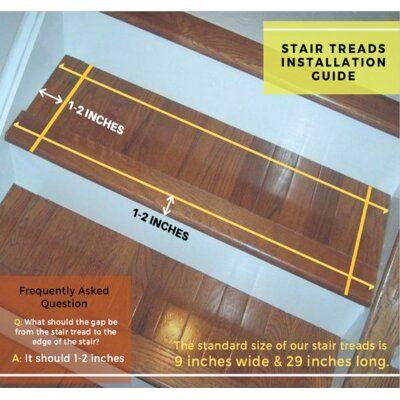 Best Bayou Breeze Lloyd 100 Natural Fiber Stair Tread Stair 400 x 300