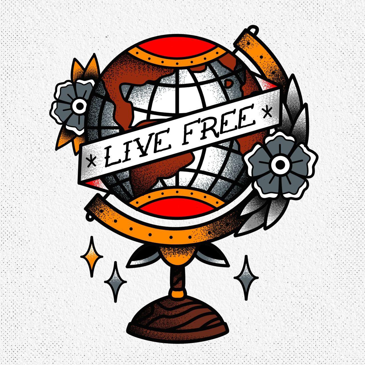 The Art Of Davis Rider Tattoo Ideas Globe Tattoos Traditional