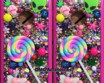 Phone Case- iPhone 6 -- Lollipop Kawaii in Pink