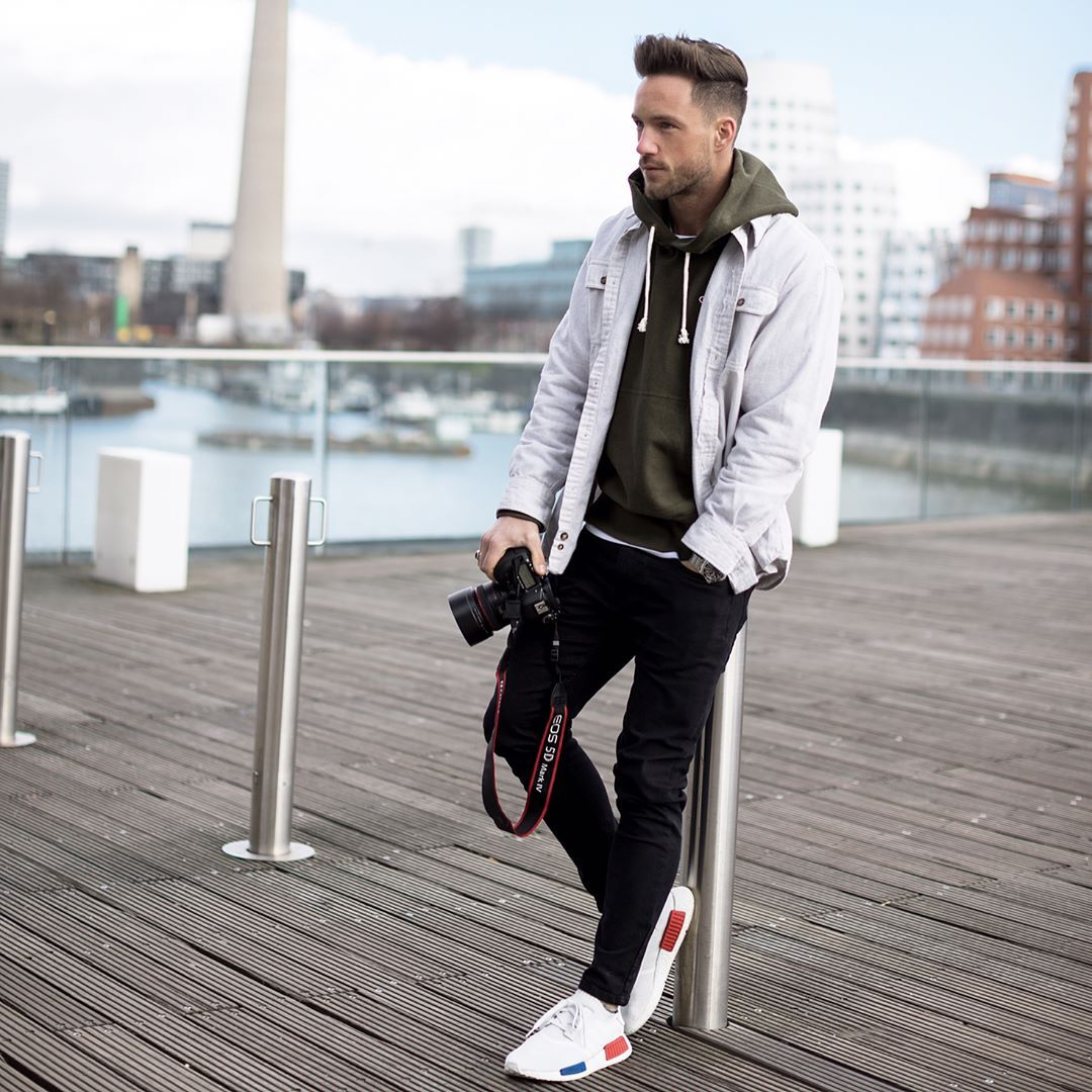 Hoodie Champion Shoes Adidas Mens Casual Outfits Mens Outfits Mens Fashion Suits [ 1080 x 1080 Pixel ]
