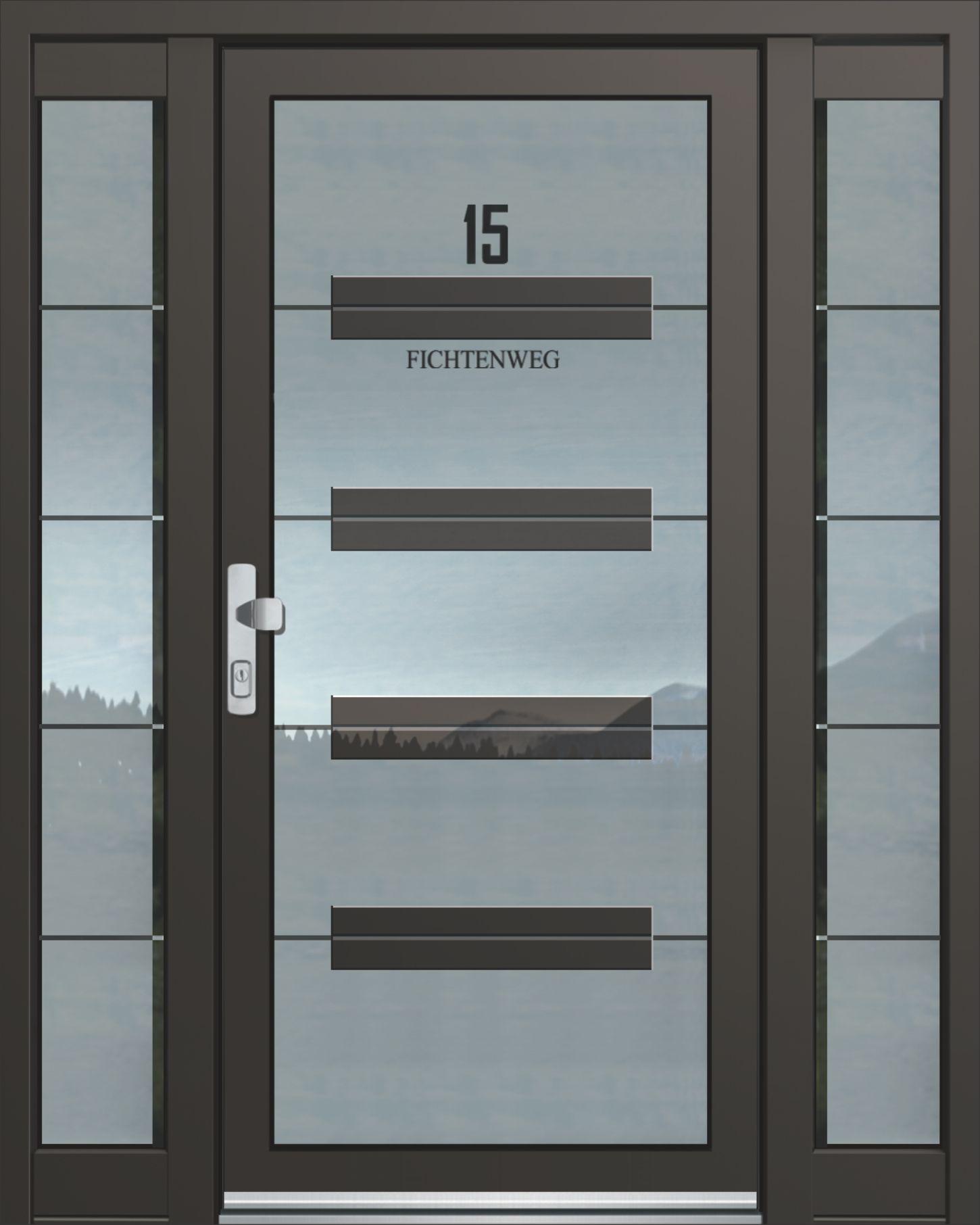 Charming Inotherm Haustür Modell ASS 1843 Tür Mit Viel Glas Preis Auf Anfrage Bei  Www.1001