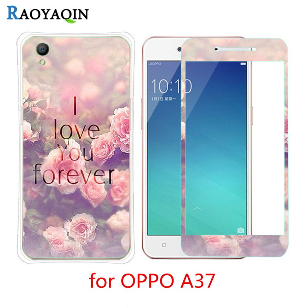 3D Relief Cartoon Pattern Back Phone Cover Case For Coque OPPO A37 A37m TPU  Silicon Soft