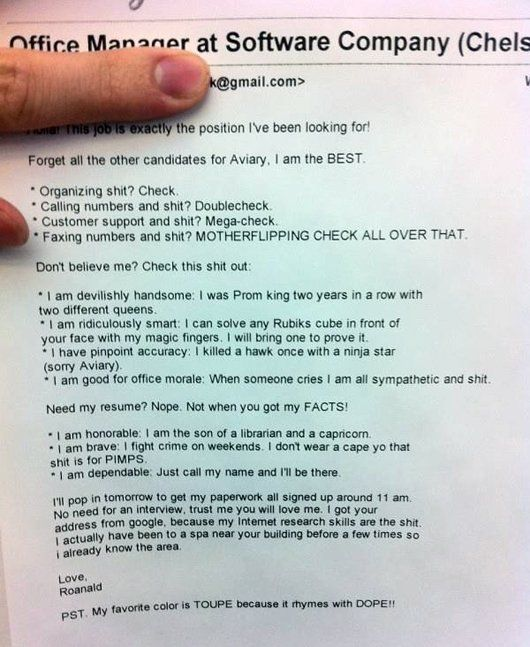 is this the most badass resume ever - Funny Resume