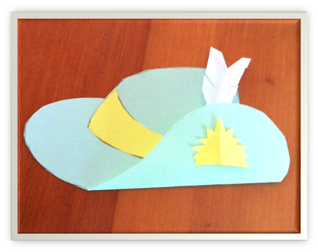The Learning Curve Lest We Forget Anzac Day Slouch Hat Craft For Kids