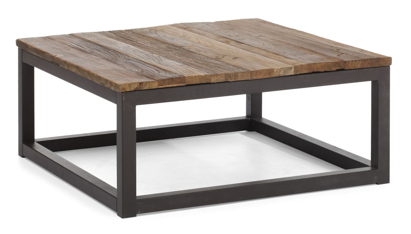 Zuo Modern Civic Center Square Coffee Table 32 Inch Square Wood