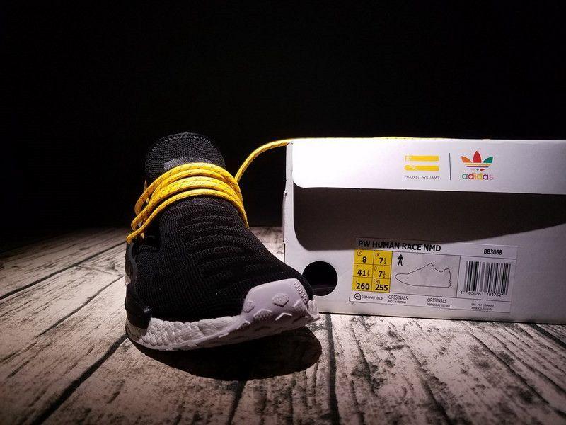 ceb1abb1d Adidas NMD Pharrell HU Human Species Black BB3068