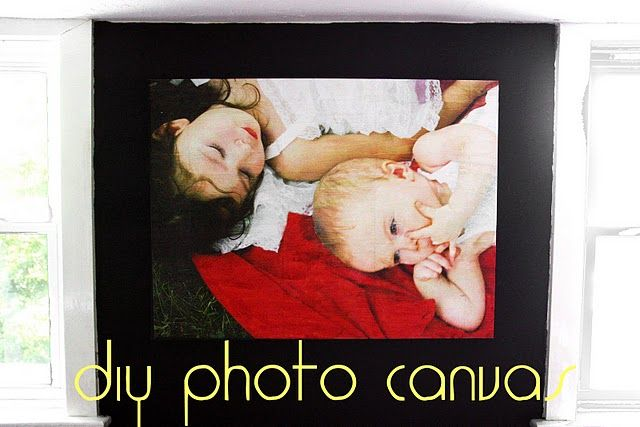 How to make a photo canvas for CHEAP. $37 for a 40x30 canvas.