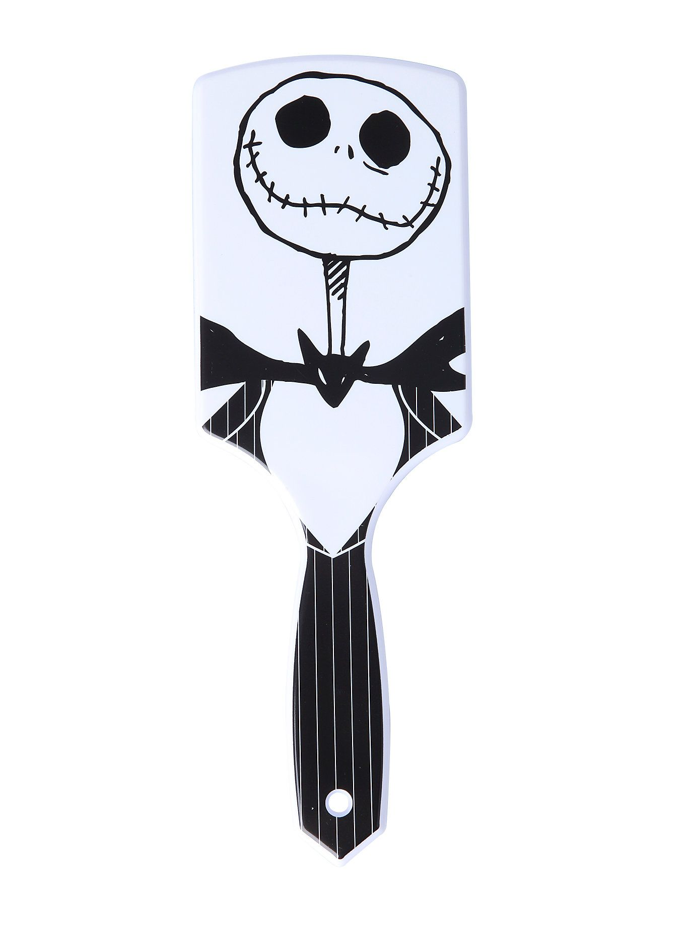 The Nightmare Before Christmas Jack Hair Brush http://www.hottopic.com/product/the-nightmare-before-christmas-jack-hair-brush/10398350.html