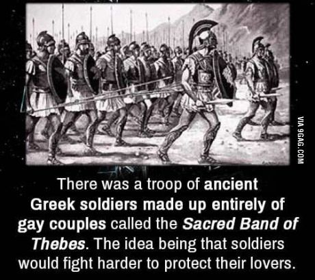 Theban band homosexual rights