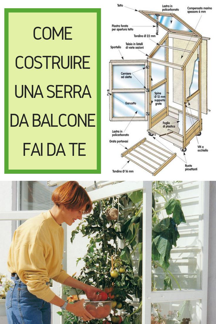 Piccole Serre Da Casa serra da balcone (con immagini) | balconi, serra, fai da te