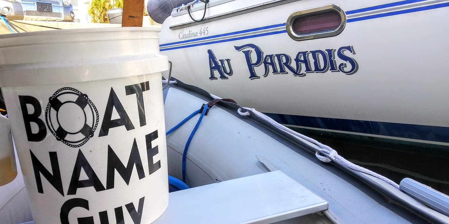 Au Paradis Boat Name In 2020 Boat Names Boat Clearwater Tampa