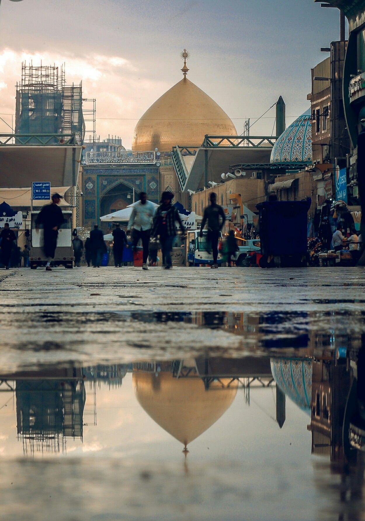 Holy Shrine Of Moula Imam Ali A S Najaf Iraq Shia Multimedia Team Smt Sufi Islam Karbala Photography Imam Hussain Wallpapers