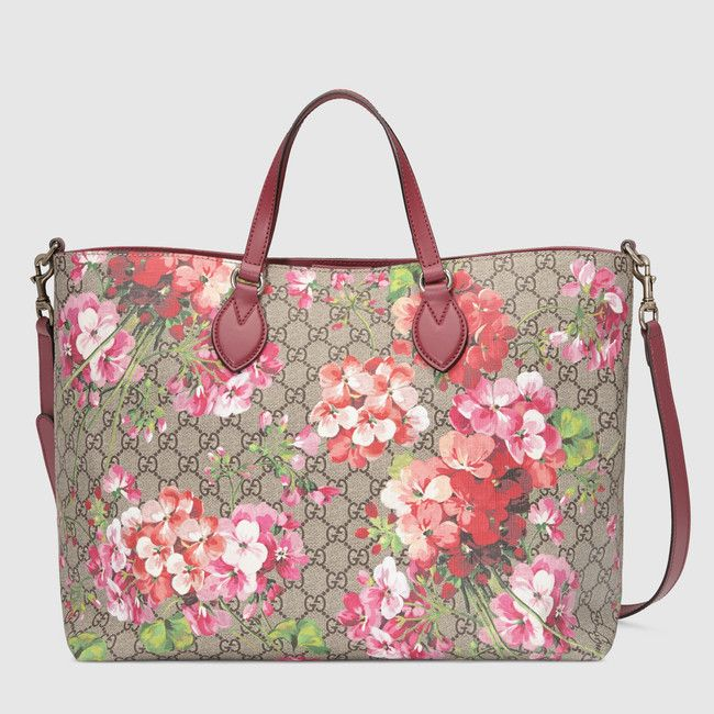 Soft GG Blooms tote - Gucci Women's Totes 453705K6Z1N8693