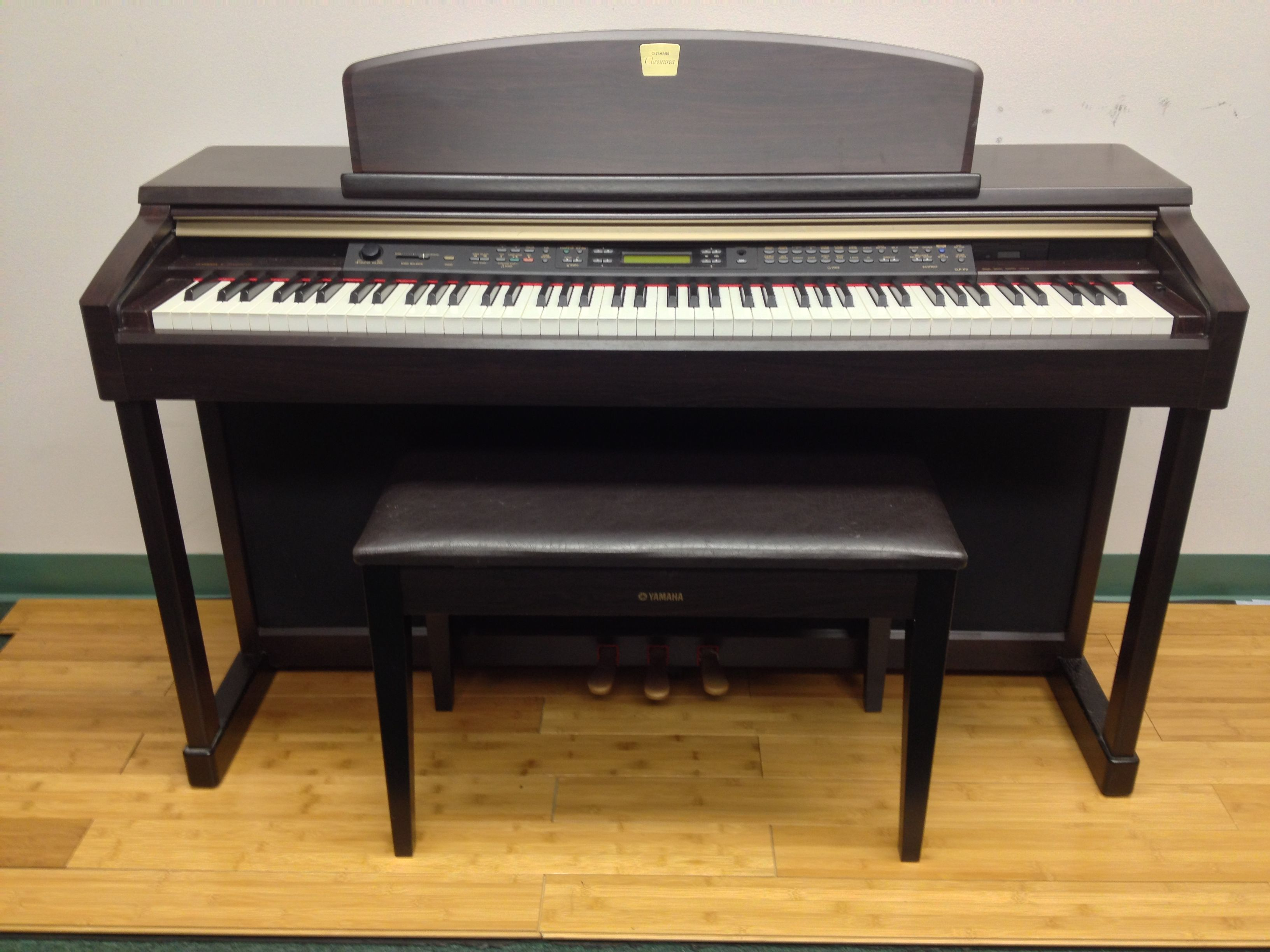 yamaha clavinova clp 170 99 per month digital piano rentals dc pinterest digital piano. Black Bedroom Furniture Sets. Home Design Ideas