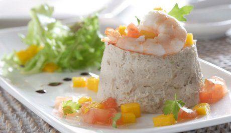 Mousse de atún con soja