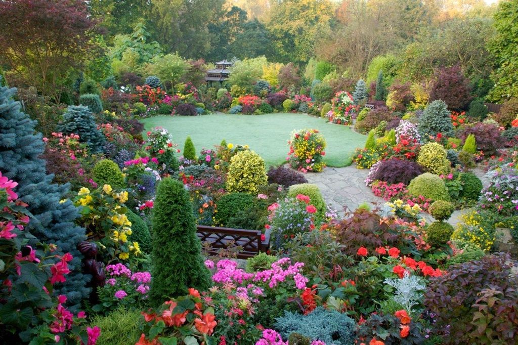 beautiful english garden 5jpg 1024682 Garden Pinterest