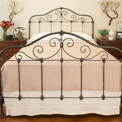 Chardonnay Standard Bed Antique Iron Beds Bed Sizes Panel Bed